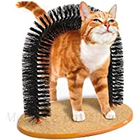 Modo Purrfect Arch Katze Self Shedding Groomer Kitty Massager Pet Scratcher Spielzeug/Katze Arch