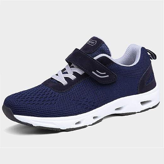 CXQWAN - Zapatillas Deportivas para Ancianos, Zapatos de Gimnasia Ajustables, Zapatos de Paseo para Ancianos, Seguridad Antideslizante, Resistente al Desgaste, para Artritis, Calzado hinchado: Amazon.es: Hogar
