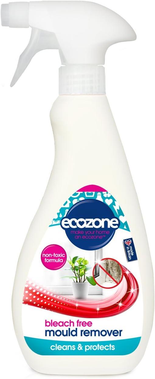 Ecozone - Eliminador de moho, 500 ml, sin lejía, no tóxico, ayuda a prevenir el crecimiento del moho, larga duración: Amazon.es: Salud y cuidado personal