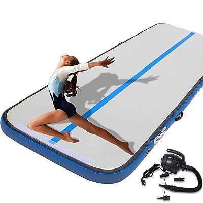 Air Track 16ft Airtrack Floor Home Tumbling Inflatable Gymnastics Yoga Mat Gym