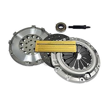 exedy Kit de embrague + cromo-molibdeno volante para 92 - 99 Mitsubishi Eclipse GST FWD Turbo: Amazon.es: Coche y moto