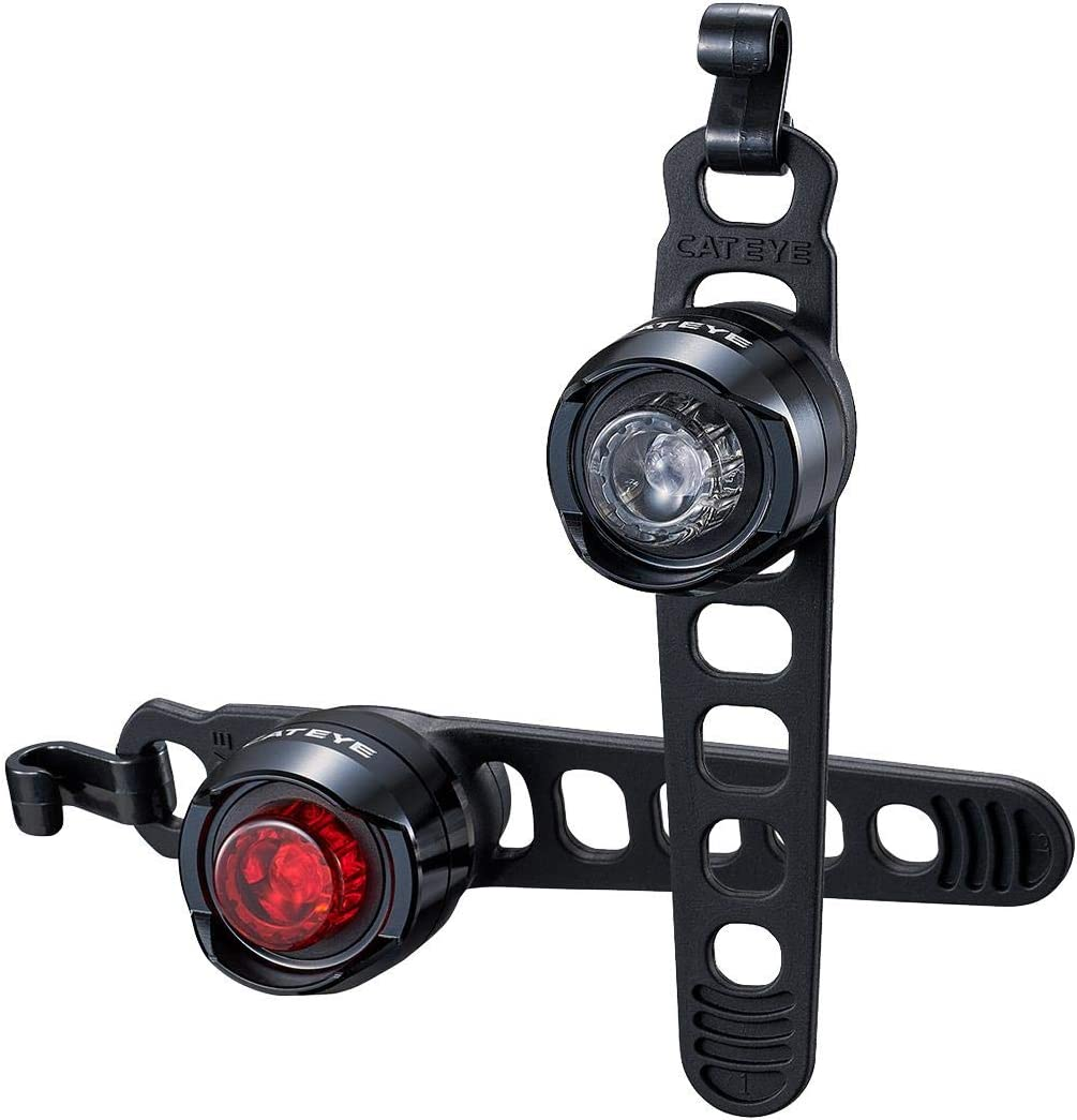 CatEye Orb Rechargeable Front/Rear Seat Luz para Bicicleta, Unisex Adulto, Polished Black, Talla única: Amazon.es: Deportes y aire libre