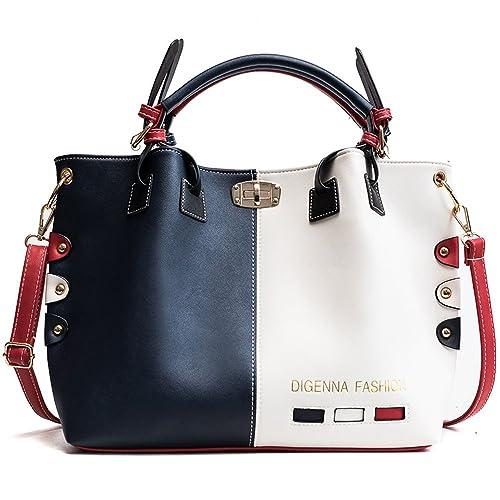 5c3c88e9f831 Women s PU Leather Large Handbags - Elegant Ladies Shoulder Bags Classic Tote  Bags - Cross-