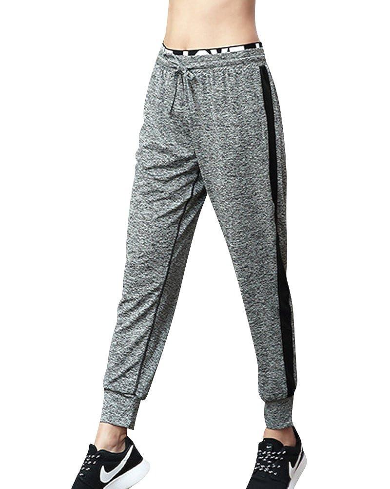 ShiFan Femme Confortable Fitness Yoga Longue Pantalons Casual Baggy Courir  Pantalons  Amazon.fr  Vêtements et accessoires 5d6de66735f
