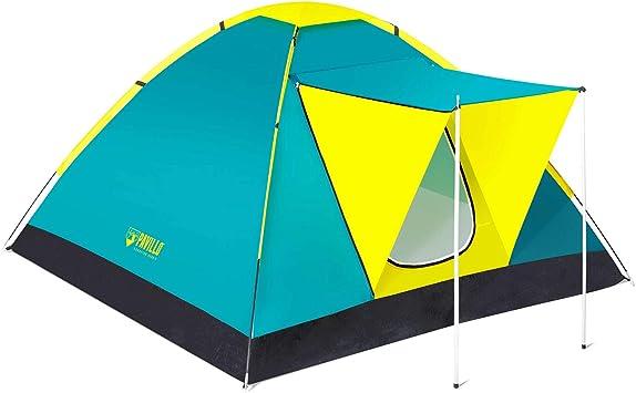BESTWAY 68088 - Tienda de Campaña Coolground 210x210x120 cm 3 Personas Montaje Varillas: Amazon.es: Deportes y aire libre
