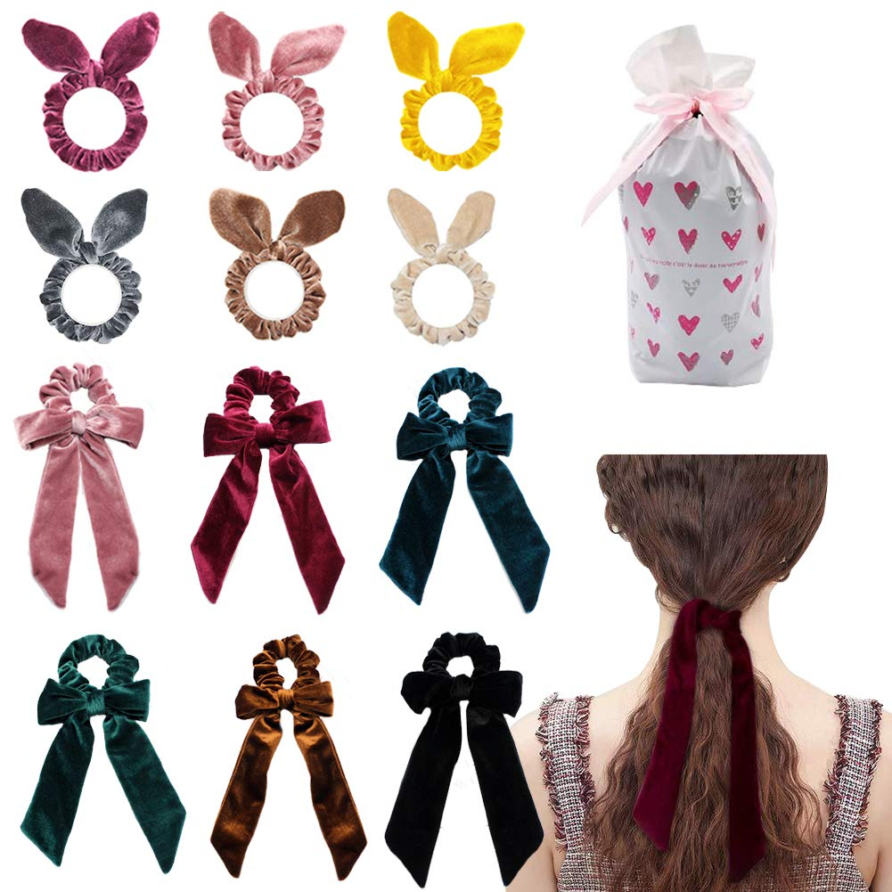 Striped Ball Elastic Rope Hair Ties Ponytail Holder Head Band Hairbands DS YJ