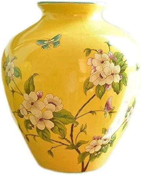 Fiori Gialli Vaso.Fengrong Decorazione Vaso Soggiorno Decorazione Dipinta Fiori E