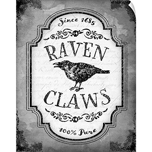 CANVAS ON DEMAND Raven Claws Wall Peel Art Print, 24
