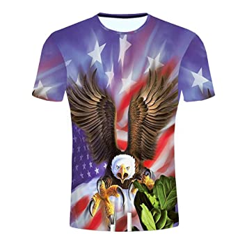 Hombre camiseta 3D Imprimir T-shirt manga corta,Sonnena ❤ Camisa de impresión