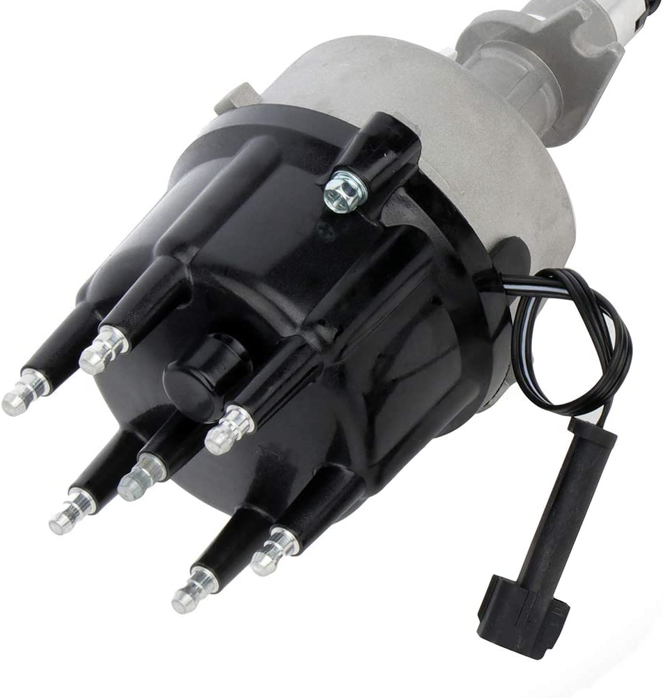 QUALINSIST Ignition Distributor compatible with Jeep Cherokee//Grand Cherokee//TJ//Wrangler 1998-1999 for 56041034 56041034AB