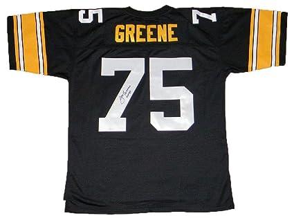53e44ff6b47 Joe Greene Autographed Jersey -  75 Mitchell   Ness - JSA Certified -  Autographed NFL