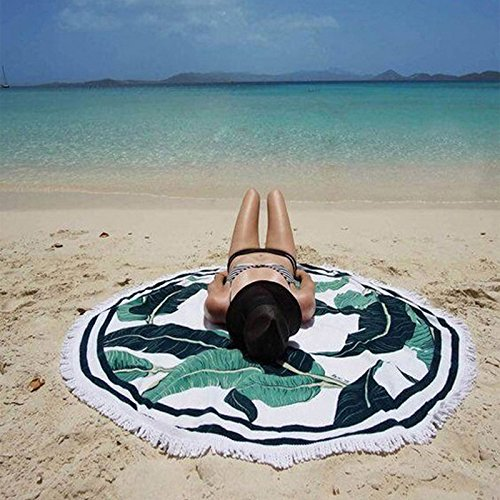 Homestia Mandala Roundie Beach Throw Hippie Tapestry Wall Ha