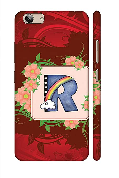 quality design 8cb2d 65720 AMAN Designing Letter R 3D Back Cover for Vivo Y53: Amazon.in ...