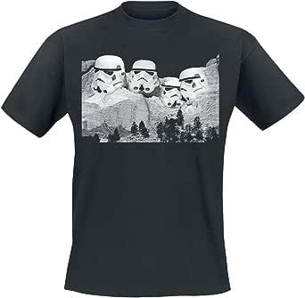 Original Stormtrooper Mount Rushmore Hombre Camiseta Negro, Regular: Amazon.es: Ropa y accesorios