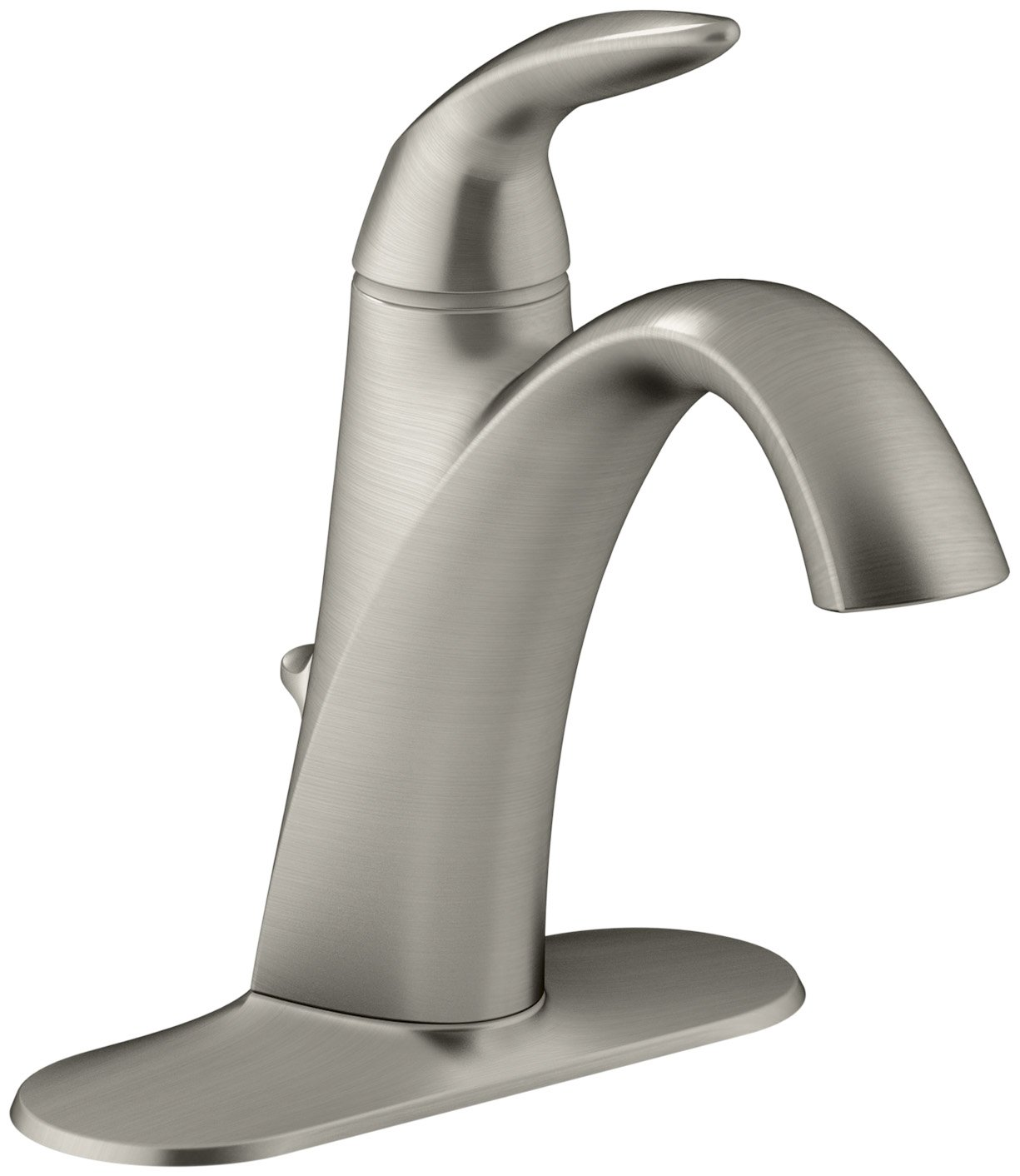 kohler k 45800 4 bn alteo single handle bathroom sink faucet
