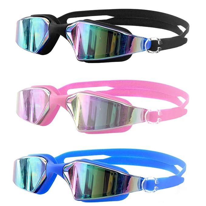 LEEDY_Gafas Gafas Ajustables De Silicona Siamesa De Verano ...