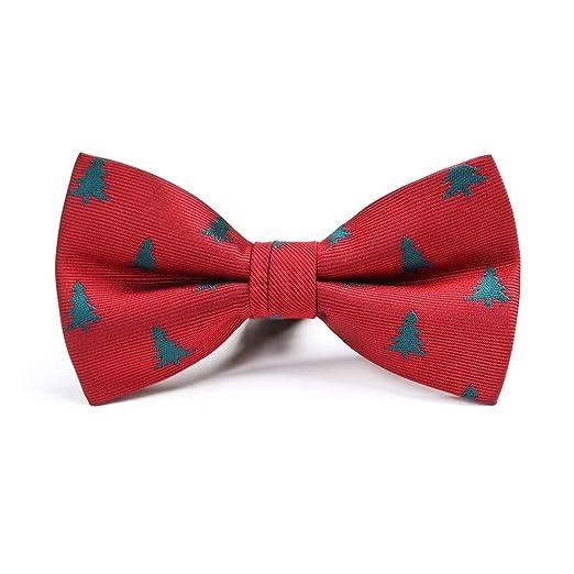 MIAOMIAOWANG Corbatas Corbata Árbol de Navidad Color a Juego ...