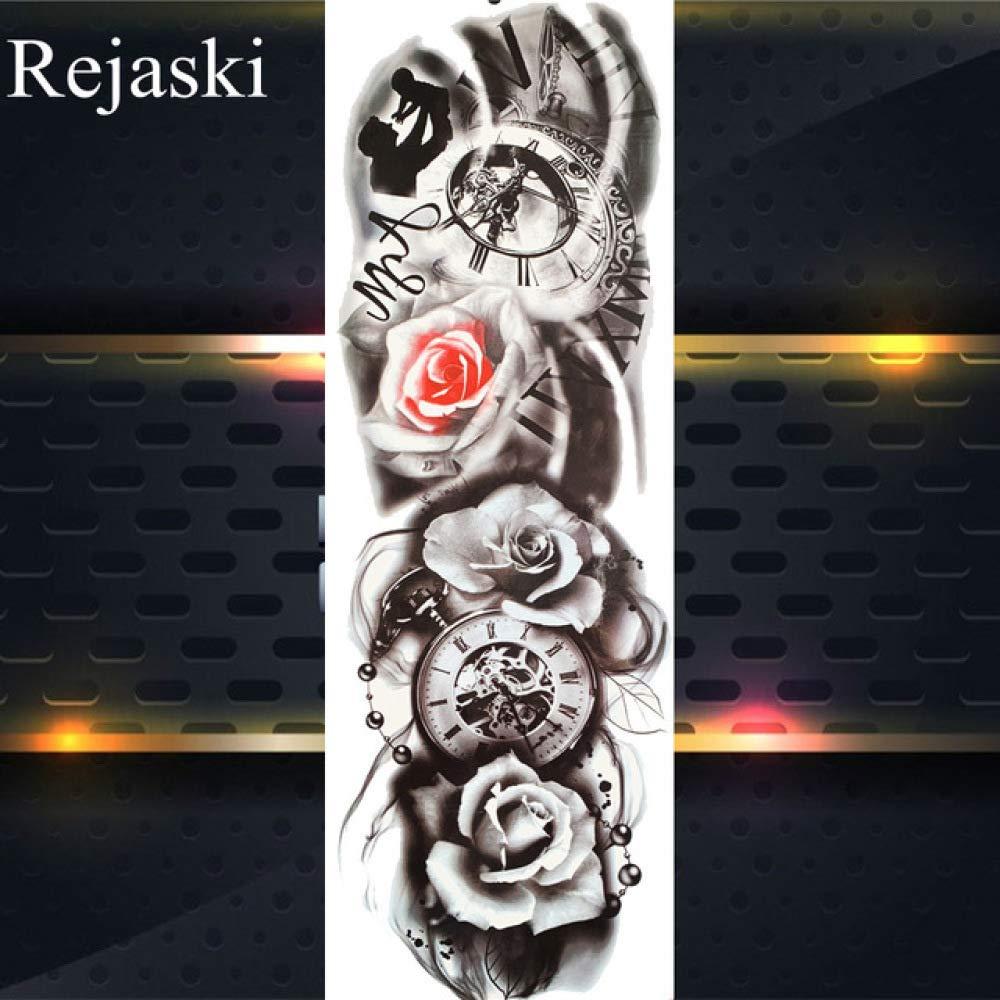 Etiqueta engomada impermeable del tatuaje de la señora del tatuaje ...