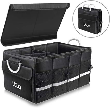 Amazon.es: LBLA Organizador Maletero Coche con Tapa Extraíble ...