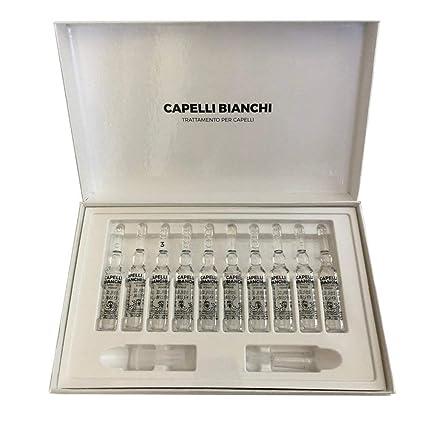LABO CAPELLI BIANCHI 60% Trattamento Donna Favorisce la Melanina 3 Mesi 60  Fiale 4e2f70f95486