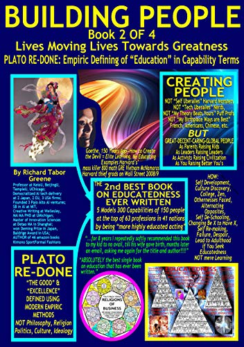 BEST PEOPLE At the Top Via EDUCATEDNESS--PLATO RE-DONE Empiric Defining of Educatedness : BUILDING PEOPLE Book 2 of 4,  5 Models of Educatedness as Capabilities, Formats A5 13pt Fonts for iphone