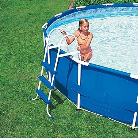 Intex Escalera para piscina cm H107: Amazon.es: Hogar