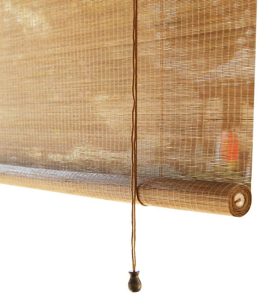 YANZHEN persiana Enrollable de bambú para Cortina de bambú con transmisión de luz Estilo japonés para Levantar cenador, 2 Colores, Personalizable: Amazon.es: Hogar