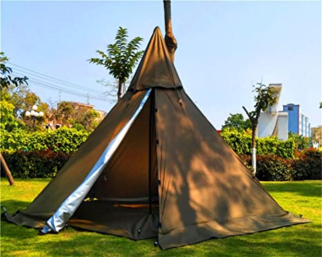 Pyramid camping outdoor hiking teepee