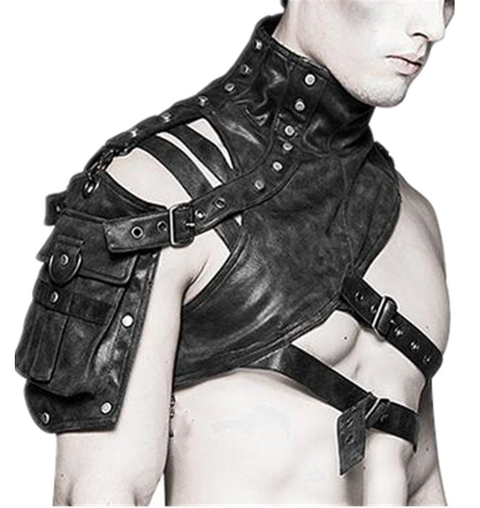 Punk Familie Damen Fashion Steampunk Multifunktions-Armor Schulter der Tasche