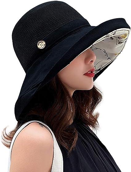 MIFULGOO Women Mesh Sun Hats