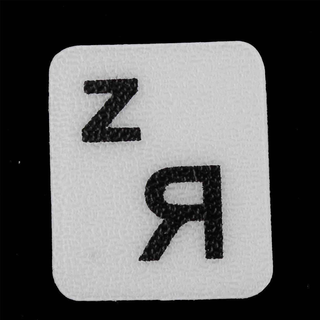 Amazon.com: eDealMax computadora de escritorio del ordenador portátil de la lengua rusa del teclado de la etiqueta del Protector Fondo Grande de cartas ...