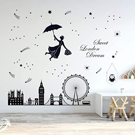 London wall decal mural sticker vinyl wall art