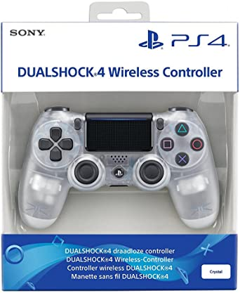 Sony PS4 Dual Shock Wireless Controller V2 Translucent CRYST: Amazon.es: Electrónica