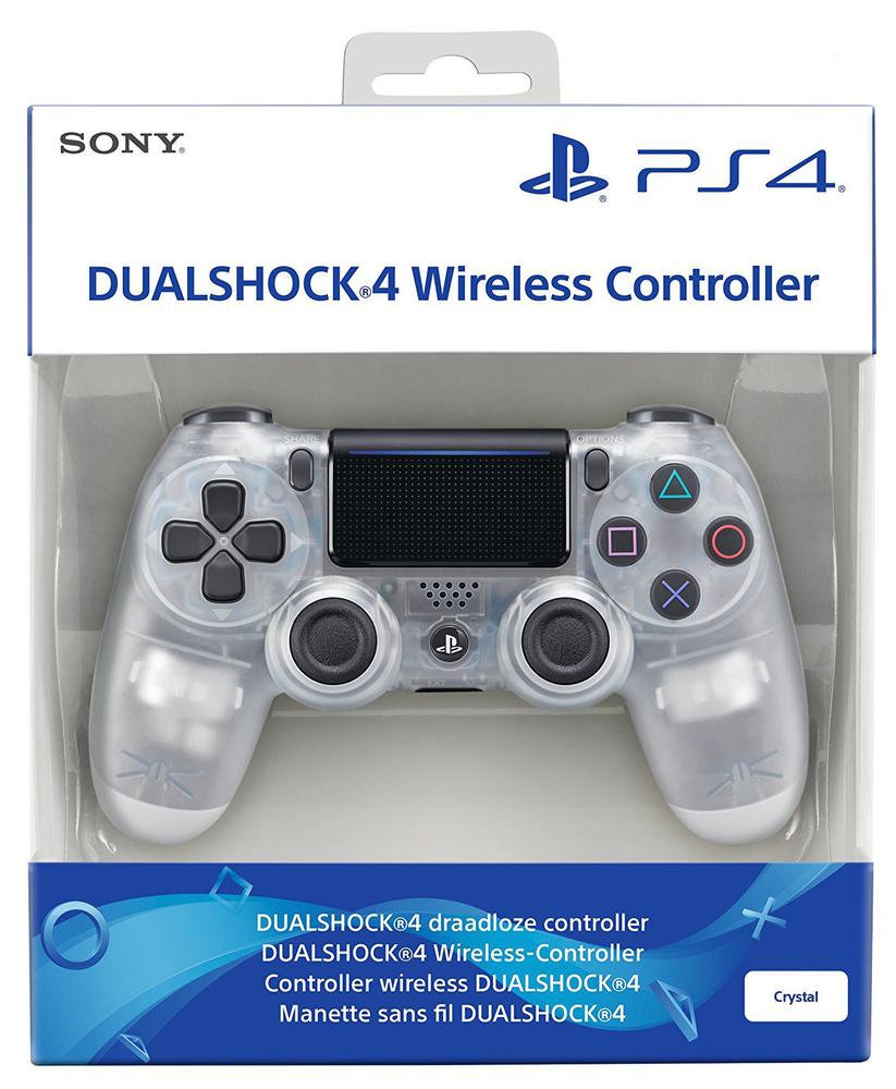 Sony Playstation PS4 Controller Dual Shock wireless crystal V2: Amazon.es: Electrónica