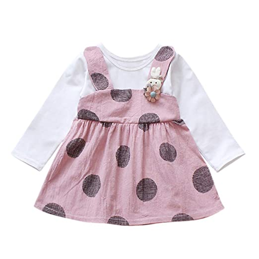 6a47c328d383a Amazon.com: Clothful 💓 Toddler Kid Baby Girl Long Sleeve Rabbit ...