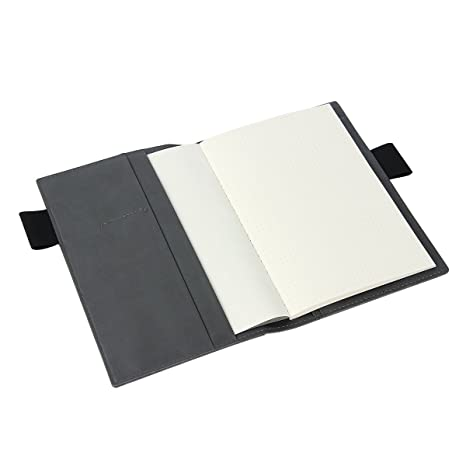 Amazon.com: bouti1583 Piel Sintética Negro Journal Case ...