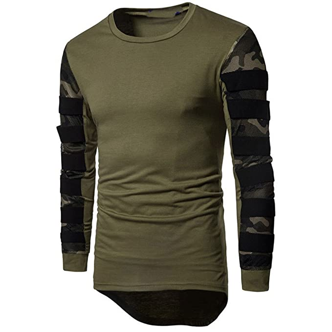 VPASS Sudaderas con Capucha Impresas Unisex con Bolsillos Sudaderas Jersey de Punto suéter Camuflaje Abrigo Sudadera