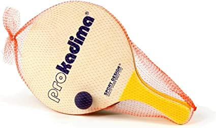 Amazon.com: Sport diseño Pro Kadima Paddle Set pk-50 (bolas ...
