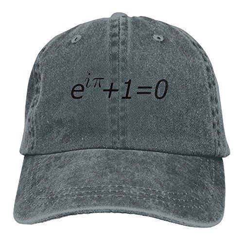 Math Equations Euler's identity Classic Cotton Dad Hat Adjustable Plain Cap Custom Denim Baseball Cap For Adult