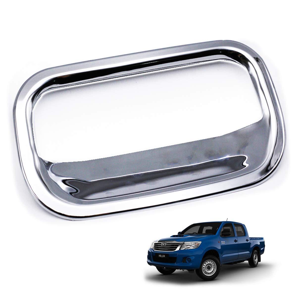 Chrome Rear Tailgate Accent Bowl Insert Fits Toyota Hilux Vigo Champ Sr5 2011 14