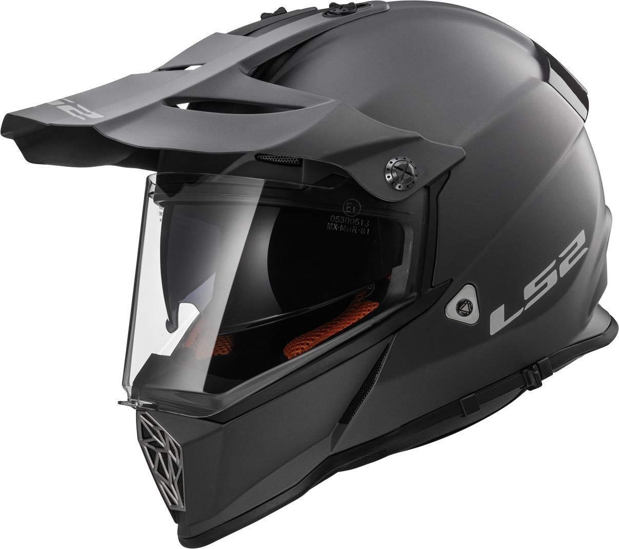 LS2/Helm Motorrad MX436/Pioneer 3/x l matt black