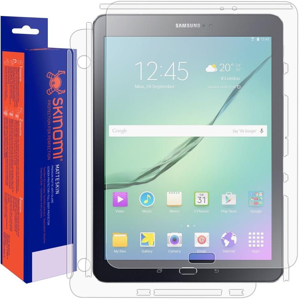 Samsung Galaxy Tab S2 9.7 Screen Protector Full Body Skinomi MatteSkin Full Skin Coverage Screen Protector for Samsung Galaxy Tab S2 9.7 Anti-Glare and Bubble-Free Shield
