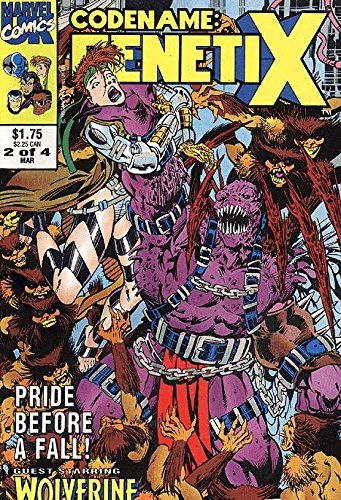 Codename: Genetix (1993 series) #2