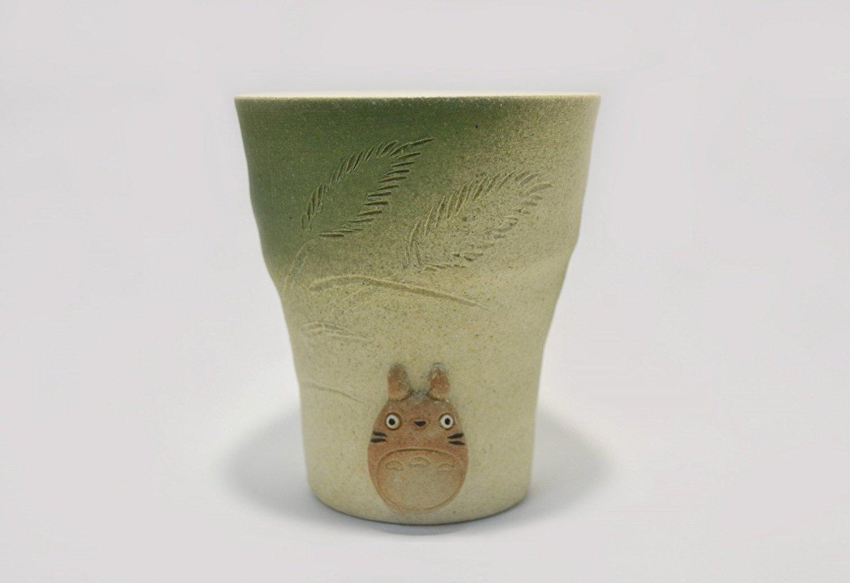 My Neighbor Totoro X Shigaraki Ware Japanese Teacup Yunomi 0116-4 Studio Ghibli