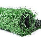 Moon Pet Grass Mat Series PE Artificial Turf Antibacterial Pet Potty Trainer Indoor Outdoor Replacement Pet Grass Mat (24X20 in)