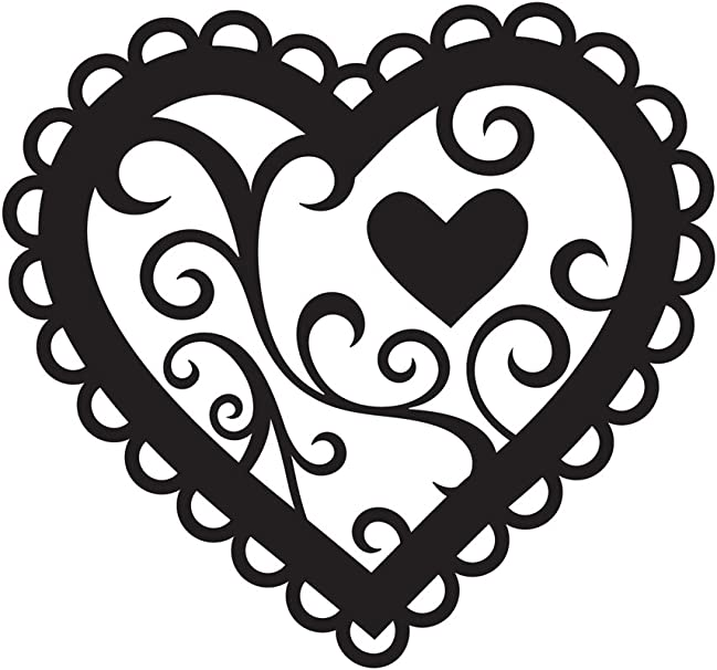 Darice Embossing Folder 4.25 X 5.75 Love