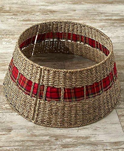The Lakeside Collection Rattan Christmas Tree Collar - ()