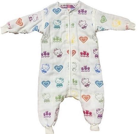 Bebé saco de dormir con pies y mangas 2.0 Tog crema Talla:24-36