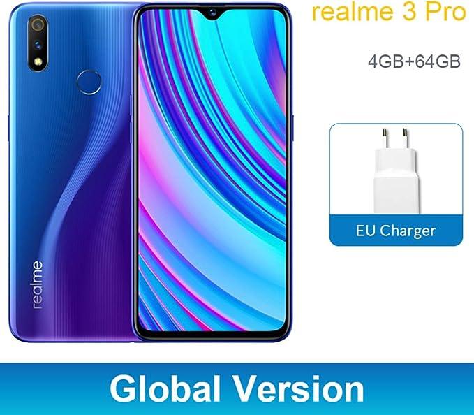 Realme 3 Pro 4GB 64GB Smartphone, 6,3 Snapdragon 710 4045mAh 16+ ...