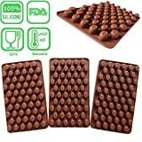 Axe Sickle 7.3 x 4.3 inches Mini Coffee beans chocolate mold,Candy mold,baking mold,Silicone mold,Cake Decorating,(3 per pack).